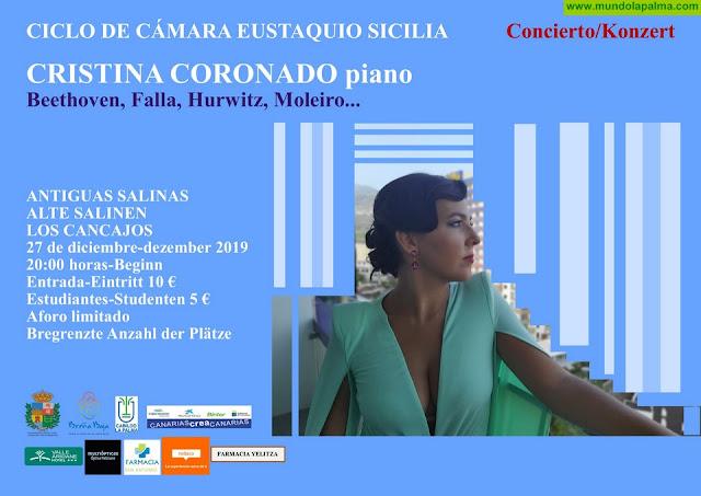 SALINAS: Cristina Coronado al piano