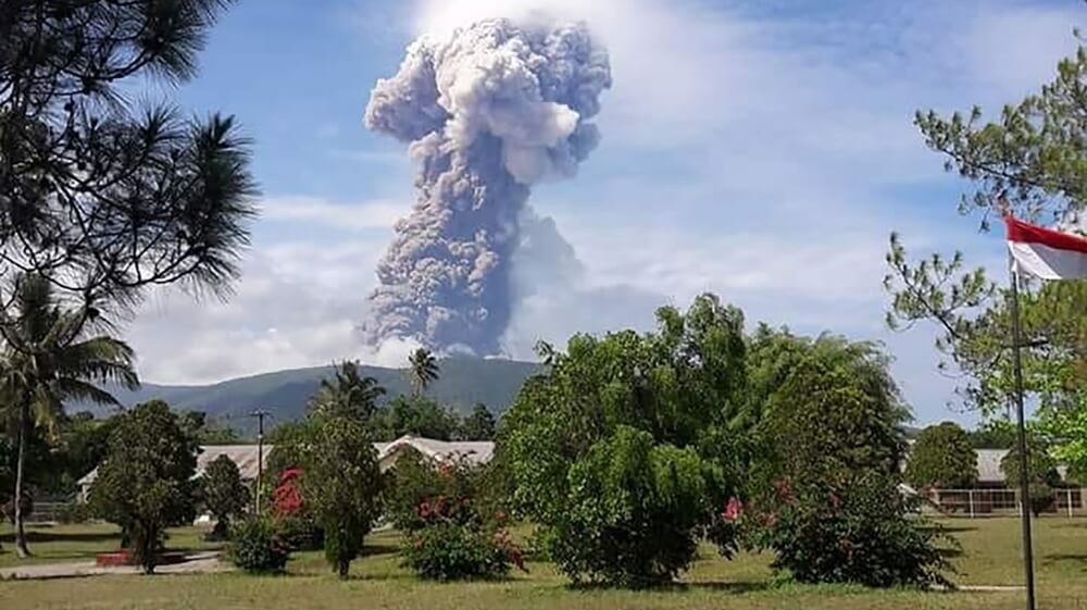 This Tsunami Hit Indonesia, Costing The Lives Of Over 1400 People, And Now A Volcano Has Just Erupted