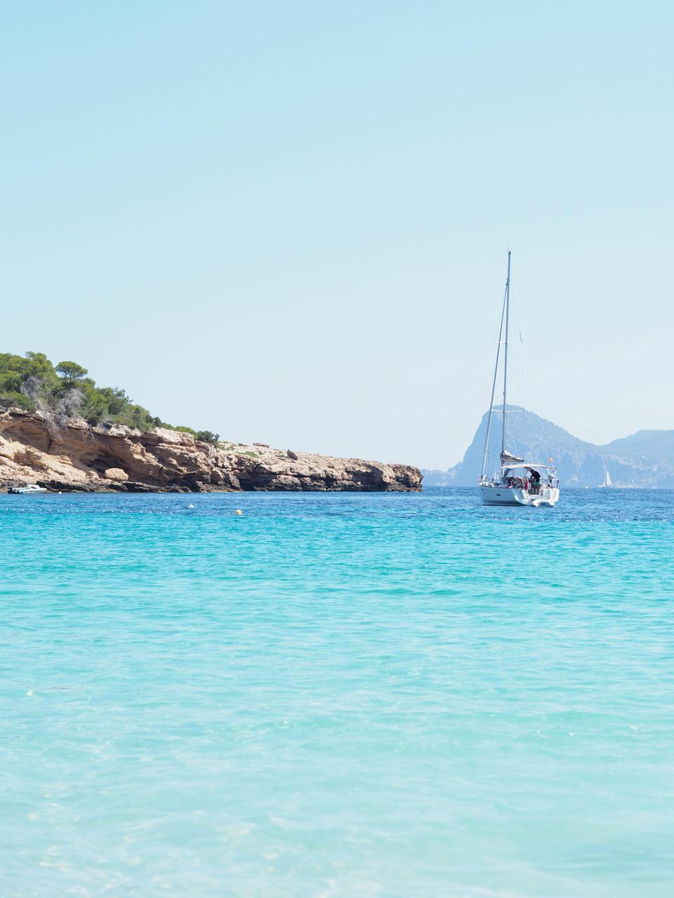 Voyages: 5 plages pour enfants à Ibiza II cala bassa