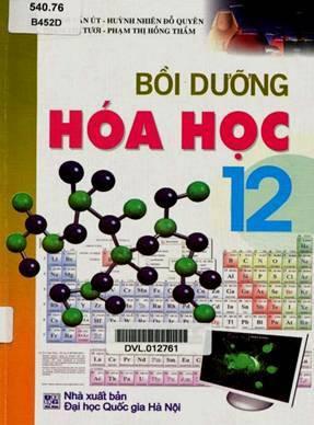 Bồi dưỡng Hóa học lớp 12 – Huỳnh Văn Út