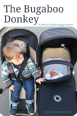 Bugaboo donkey, perfect double pushchair, Bugaboo, side by side double, themummyadventure.com