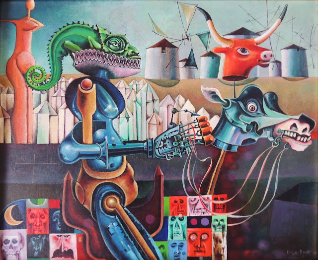 Josep María Rovira Brull pintura quijote España