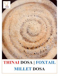 thinai idli and dosa
