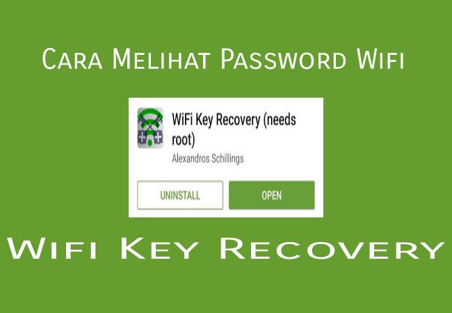 Cara Melihat dan Menyimpan Password Wifi di Android Terbaru