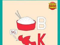 Tebak Gambar Semangkok Nasi B Burung NG dihilangkan K