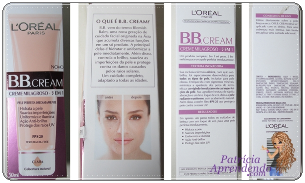 Resenha BB Cream L'oréal Paris