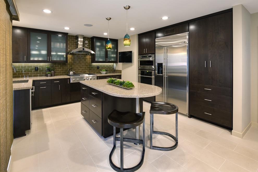 Dark KITCHEN CABINETS With Light Granite Unique Dark Kitchen Cabinet Ideas