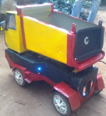 waste powered truck nigerian