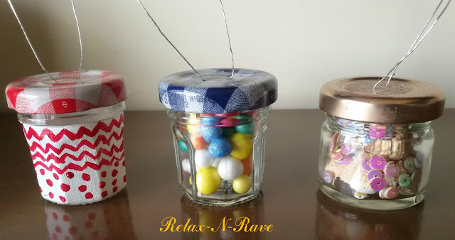 diy jam jar christmas ornament