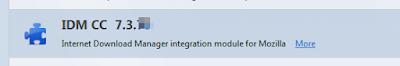 IDM Tidak Compatible pada Mozilla
