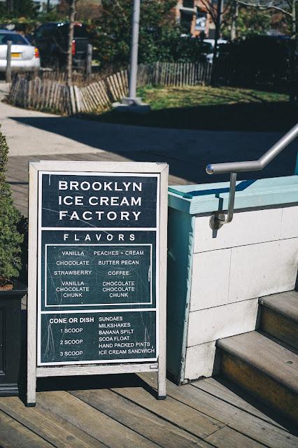 ブルックリン・アイスクリーム・ファクトリー(Brooklyn Ice Cream Factory)