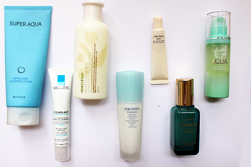 Korean morning skincare routine