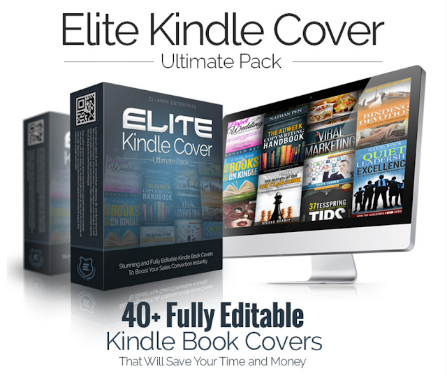 ELITE Kindle Cover [A Massive Set of PREMIUM Kindle Book Covers That Will SAVE Your Time and Money]