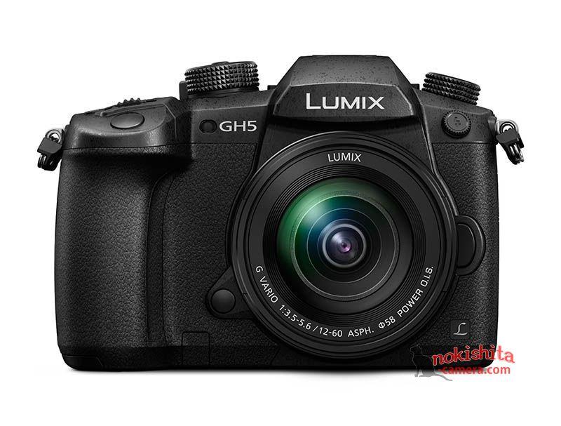 Panasonic Lumix GH5, вид спереди