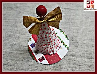 manualidad navideña con niños