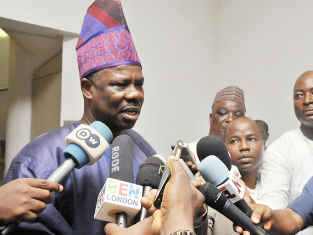 Amosun: accuses Osoba, Tinubu and Oshiomhole
