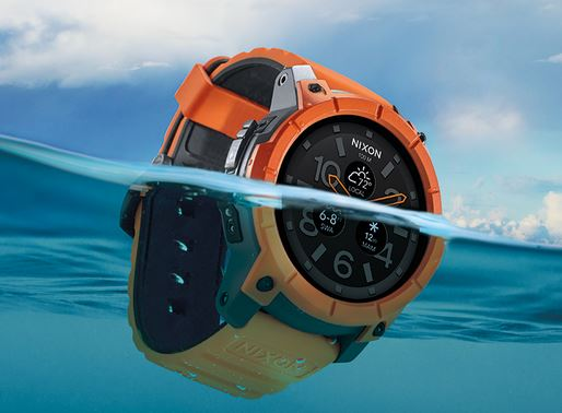 NIXON smartwatch, NIXON the mission, NIXON mission smartwatch, NIXON android wear