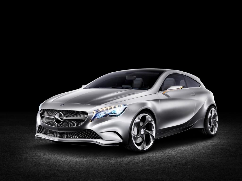 2012 mercedes benz a class concept car automotive todays. Black Bedroom Furniture Sets. Home Design Ideas
