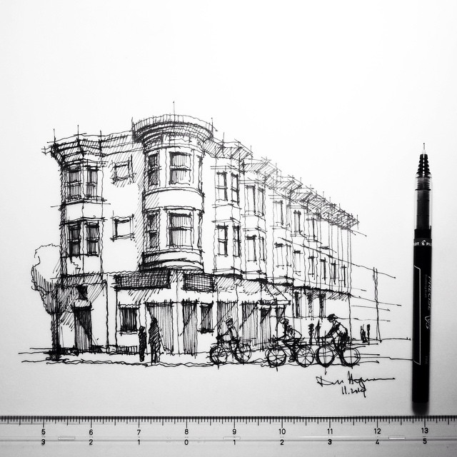 10-Dan-Hogman-Architectural-Sketchbook-Drawings-www-designstack-co