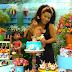 Juliana Alves comemora os 3 meses de Yolanda com o tema Moana