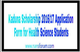 Image for Kaduna Scholarship 2016/17