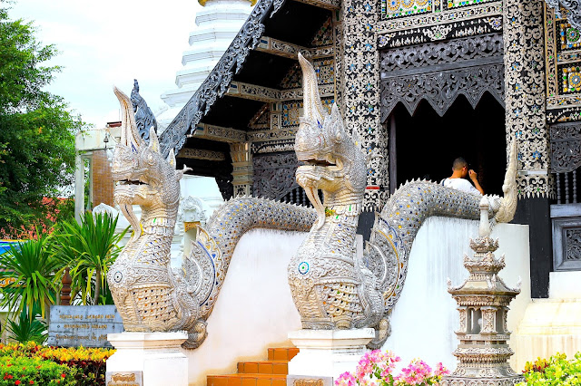 Temple Old Town Travel Photography Chiang Mai Thailand