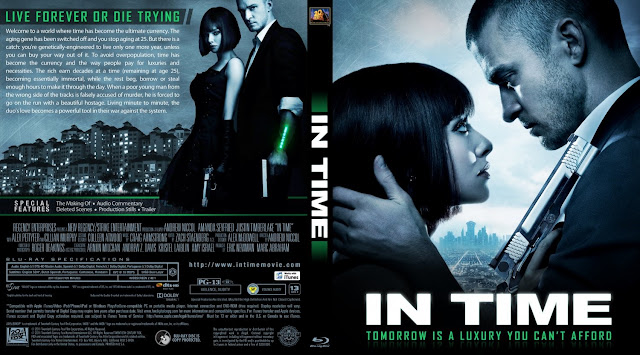 In Time Bluray Cover