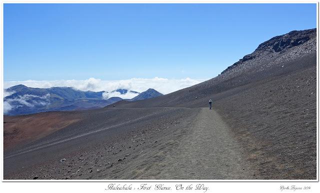 Haleakala: First Glance. On the Way.