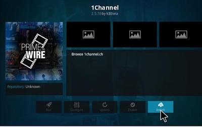 install 1channel on kodi krypton