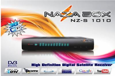 NAZABOX NZ1010 ATUALIZAÇÃO V 4.05 Naza1
