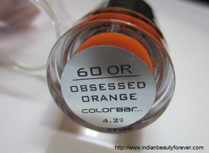Colorbar obsessed orange
