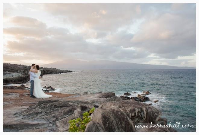 Katrina Amp Chris Maui Wedding At Ironwoods Beach By Simple