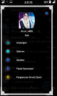 BBM MOD Droid Chat! v8.4.19 Transparent with Background Opacity V2.13.0.22 APK Terbaru