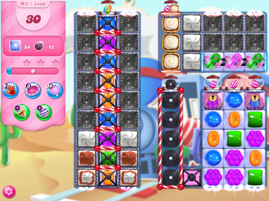 Candy Crush Saga level 4460