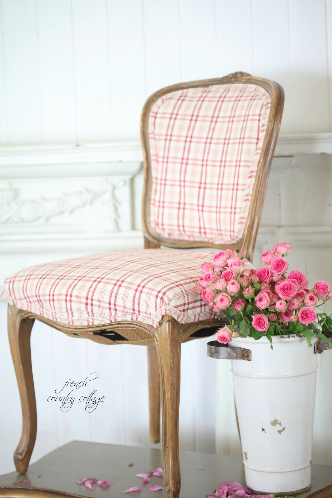 Thrifty under $50 French chair FRENCH COUNTRY COTTAGE