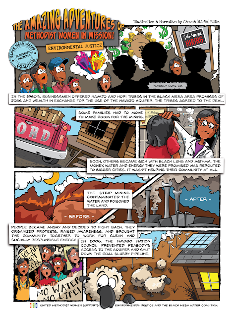 Response Magazine United Methodist Women - The Amazing Adventures of Women in Mission (Environmental Justice)