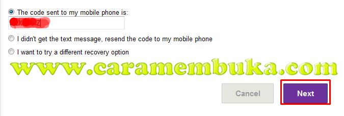 Masukkan code