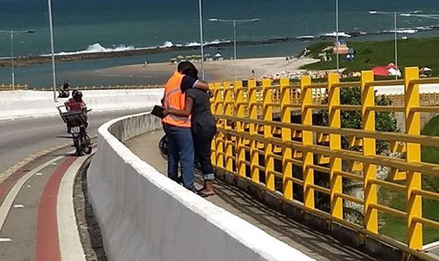 Evangélicos, católicos e espíritas se unem para evitar suicídios em ponte de Natal, RN