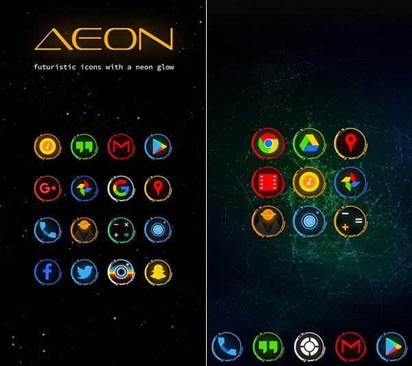 Nova Launcher Prime + Aeon Icon Pack Apk