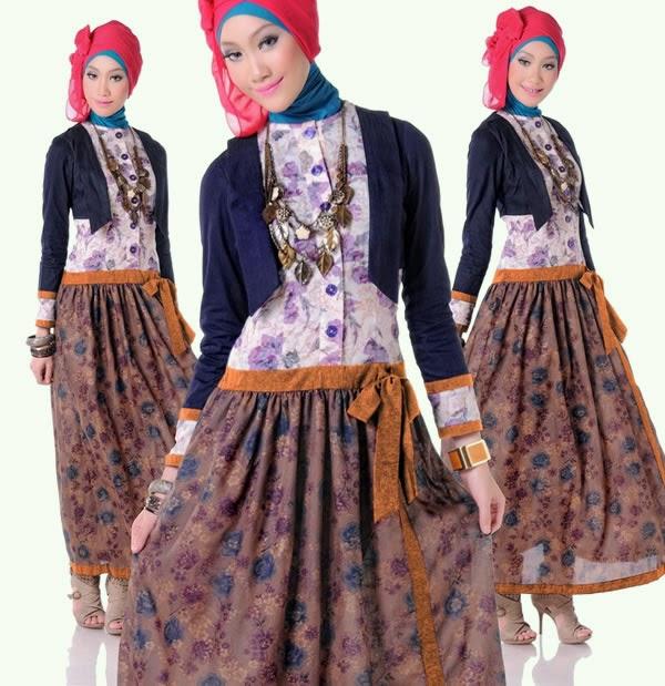 Contoh desain baju muslim remaja untuk acara semi formal