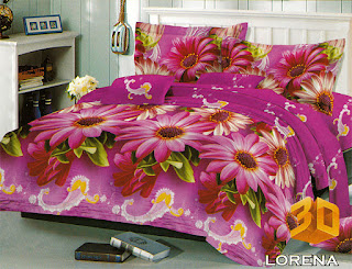 Sprei Red Rose Lorena