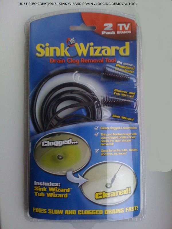 Sink Wizard The Diy Drain Clog Removal Tool Bargains
