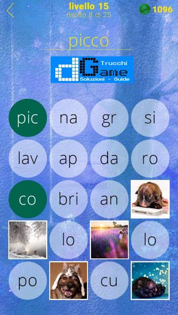650 Foto soluzione pacchetto 15 livelli (1-25)