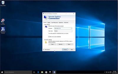 Mengaktifkan Remote Desktop di Windows 10