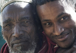 Ethiopia father and son