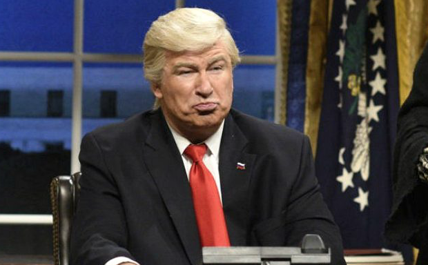 Alec Baldwin: Black People Love My Trump Impression Because 'They're Most Afraid of Trump'