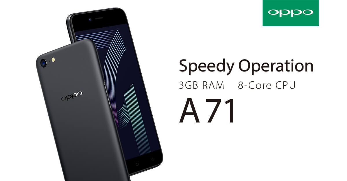 Home Credit Now Offers OPPO A71 at 0% Installments