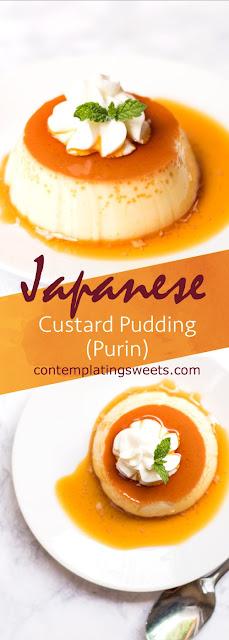 JAPANESE CUSTARD PUDDING (PURIN)