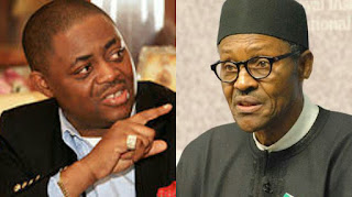 Photos of Femi Fani-Kayode and Muhammadu Buhari