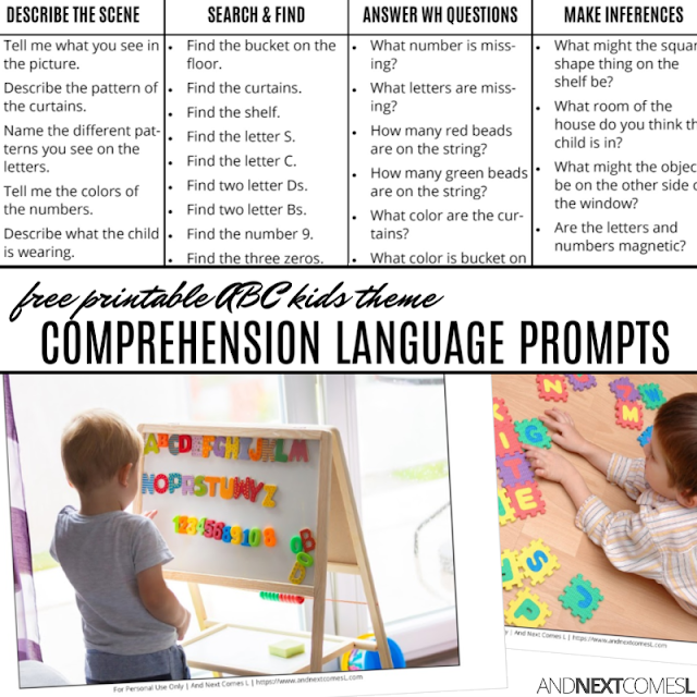 Hyperlexia reading comprehension activities
